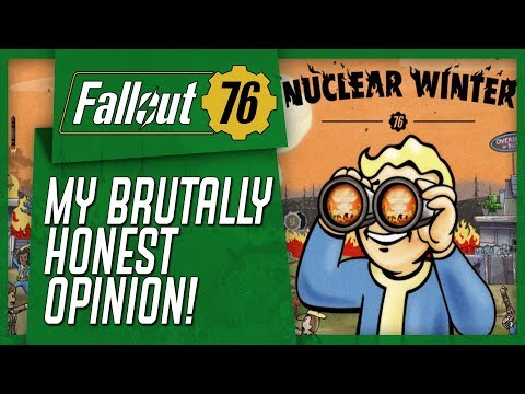 Fallout 76's Battle Royale - My Brutally Honest Opinion