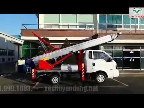 Xe thang trượt vận chuyển hàng hóa 36m 36 mét hyundai HD110S