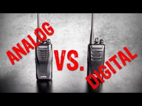 Digital vs Analog Two Way Radio Comparison - GME Supply