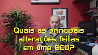 8 - Quais as principais alterações feitas na ECU?