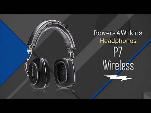 Bowers & Wilkins P7 Wireless (Over-ear, Black)