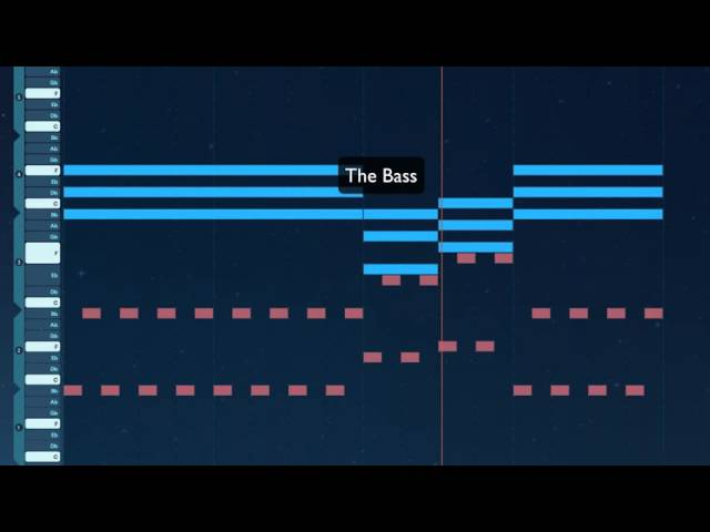 Odesi tutorial - Zombie Nation - Kernkraft 400 (Chords, Melody and Bassline)