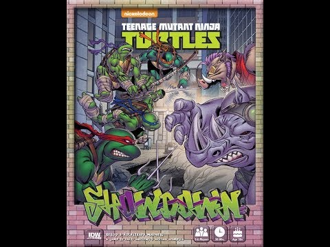 The Purge: # 1550 Teenage Mutant Ninja Turtles: Showdown - Bebop & Rocksteady Madness: A skirmish game for kids and fans of the TMNT!