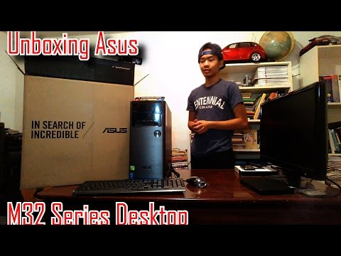 [HD] Unboxing Asus M32 Gaming Desktop
