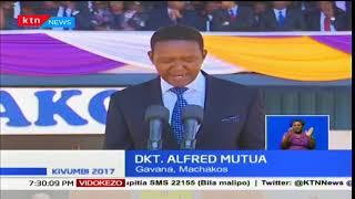 Mchakato wa kuapisha magavana waliochaguliwa umeanza huku Alfred Mutua akiwa wa kwanza