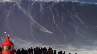 आसमान छूती समुद्री लहरे || 5 Largest Waves Caught on Video - LARGEST