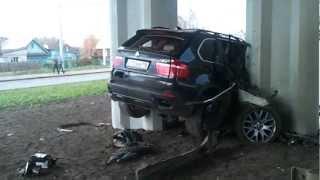 Авария в мосту BMW В КАЗАНИ.mp4