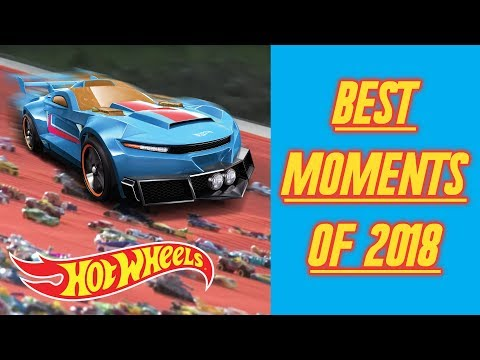 Best Action-Packed Moments Of 2018 | Hot Wheels