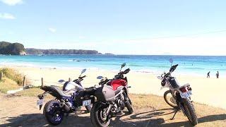 絶景バイクツーリング伊豆半島絶景海岸線とロマンの香りを満喫静岡県