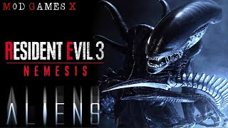 Resident Evil 3 ALL OR ENEMIES ARE ALIENS
