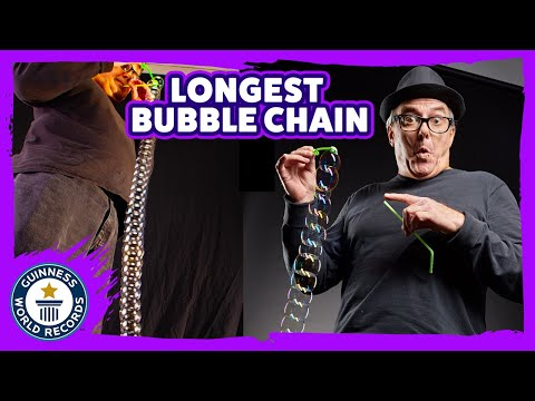 Building a Bubble Chain World Record