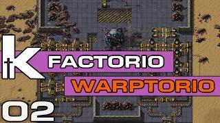 Скачать Factorio 0 17   Warptorio Mod Ep 01   Burning through World