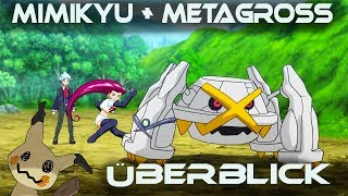 Jessis Mimikyu + Steven Stones Metagross - Überblick | Monster Camp / Monster Manual | Psycho D