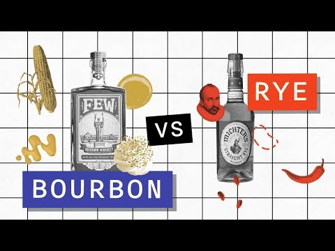 What's the Difference Between Bourbon and Rye?