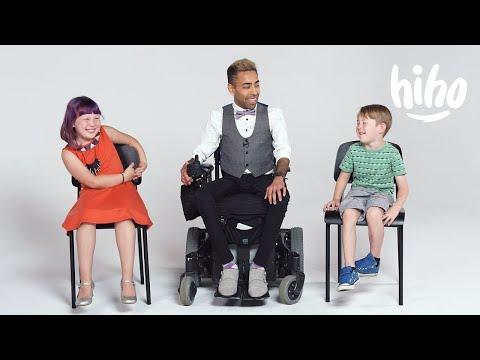 Děti poprvé potkávají vozíčkáře