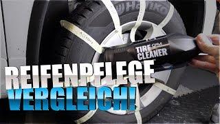 Reifenpflegeprodukte: Gyeon Tire Express & Tire Cleaner & Meguiars Endurance Tire Gel   83metoo
