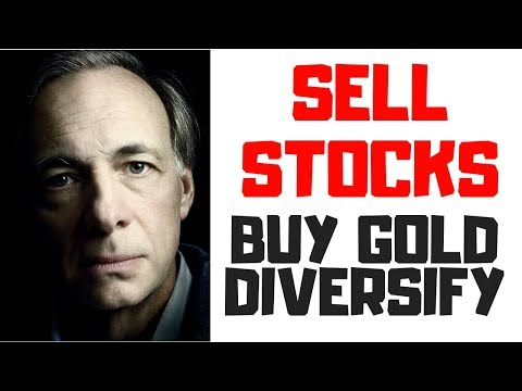 STOCK MARKET NEWS - RAY DALIO: SELL STOCKS/BUY GOLD