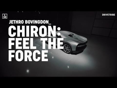 Riding shotgun in the 1500bhp Bugatti Chiron