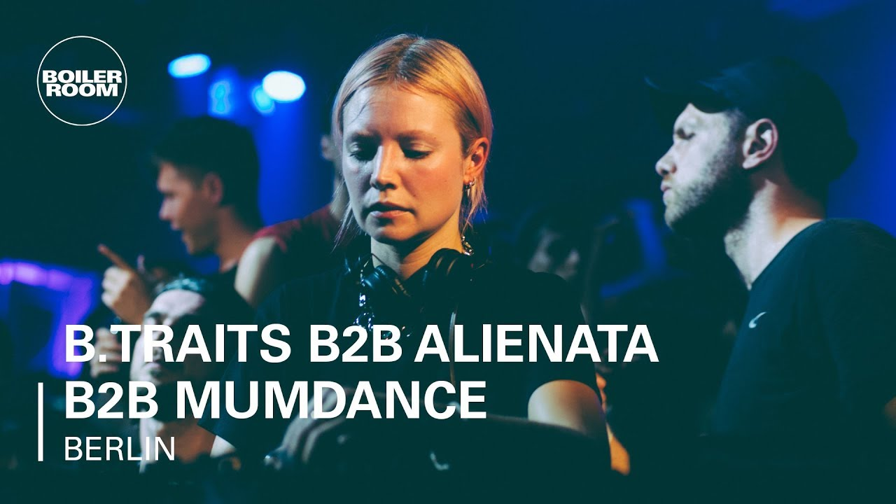B.Traits b2b Alienata b2b Mumdance - Live @ Boiler Room x SCOPES 2018