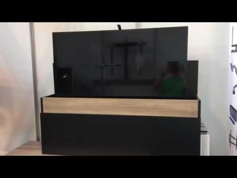 Guntlin AG Möbel mit Liftsystem in schwarz und weiss