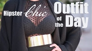 Outfit Of The Day | Hipster Chic