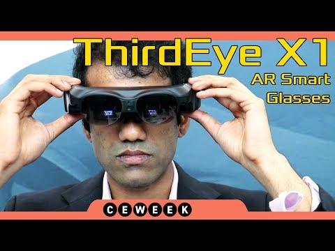 ThirdEye X1 AR Smart Glasses (CE Week 2018)