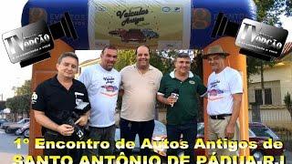 Programa Antigomobilismo-1º Encontro de Autos S. A. Pádua RJ