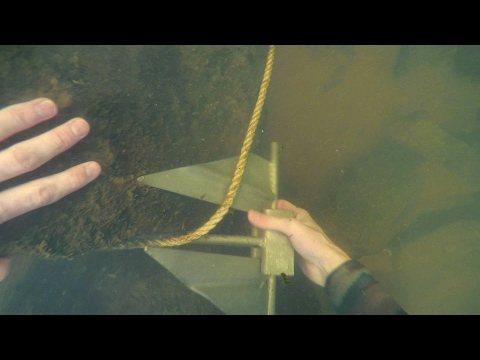 Freediving in Murky Water for River Treasure! - Anchor, Fishing Tackle, Zipline and More! | DALLMYD
