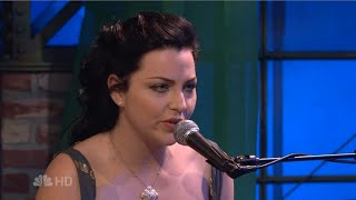Evanescence Good Enough (Acoustic at Tonight show With Jay leno 2007)