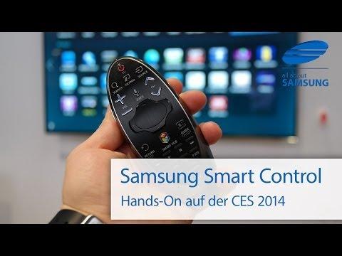 Samsung Smart Control Fernbedienung für 2014er SmartTV auf der CES 2014