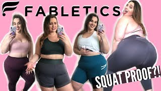 Fabletics: Are They Squat Proof?!  | Sarah Rae Vargas