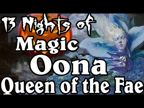 MTG Lore: Oona, Queen of the Fae