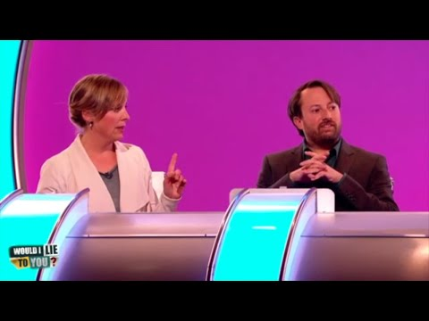 S kým se muchlovala Mel Giedroyc? - Would I Lie to You?