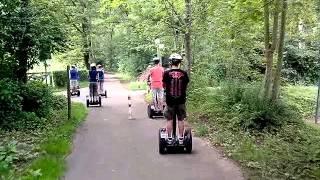 preview picture of video 'Segway - Erlebnistour in Esslingen am Neckar von SEG Events - Segway erleben!'