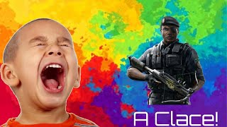 Kid Freaks Out When Getting A Game Winning Clace (Clutch and an Ace) In Rainbow Six Siege