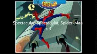 [Full Theme Song] The Spectacular Spider-Man (lyrics)