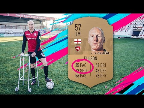 After being insulted by FIFA19's low pace score Morecambe's Kevin Ellison compares attributes to real life data