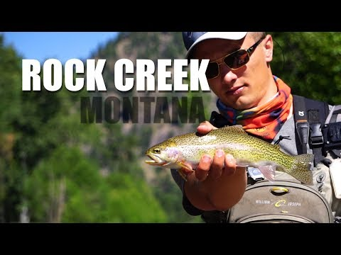 Fly Fishing Rock Creek, Montana