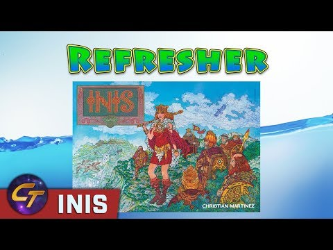 Inis - Refresher on How to Play // Cosmic Tavern
