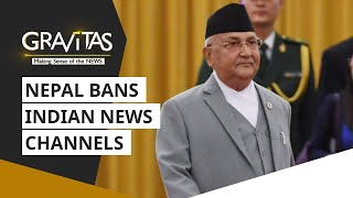 Gravitas: Nepal bans Indian news channels  IMAGES, GIF, ANIMATED GIF, WALLPAPER, STICKER FOR WHATSAPP & FACEBOOK