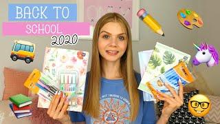 BACK TO SCHOOL 2020 | HAUL PRZYBORY SZKOLNE