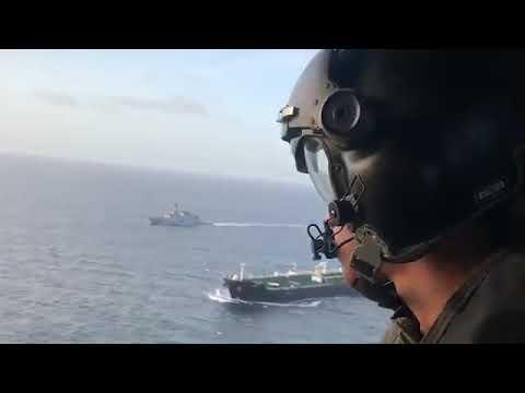 İran Petrol Tankeri Venezüella Karasularında