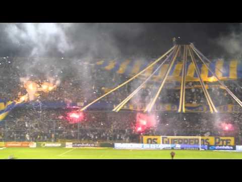 """""""Recibimiento Rosario Central vs Quilmes 04/08/13"""" Barra: Los Guerreros • Club: Rosario Central"""