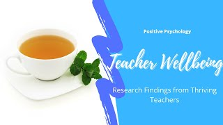 #TeacherWellbeing