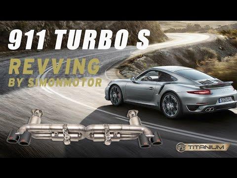 The iPE exhaust for Porsche 991 Turbo