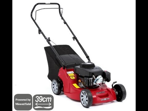 Mountfield HP414 Push Petrol 4 Wheeled Lawnmower