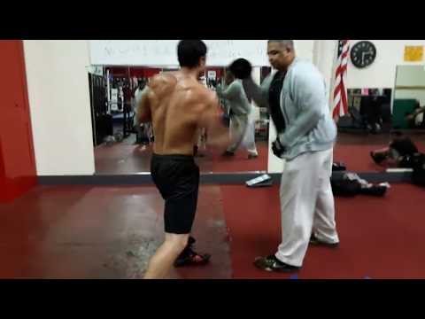 SPEED and POWER Pad Work Highlights/ POWER Punch Training
