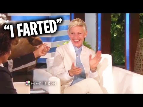 The Most Funny Moments From The Ellen Show (видео)