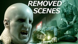 Alternative Scenes in Prometheus: Shaw vs Engineer, Extended Opening Scene and others