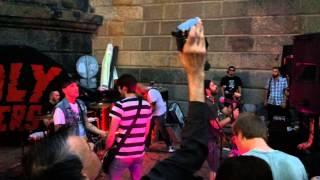 Video The Unholy Preachers - Lonely Boy 17.7.2015 Náplavka,Praha